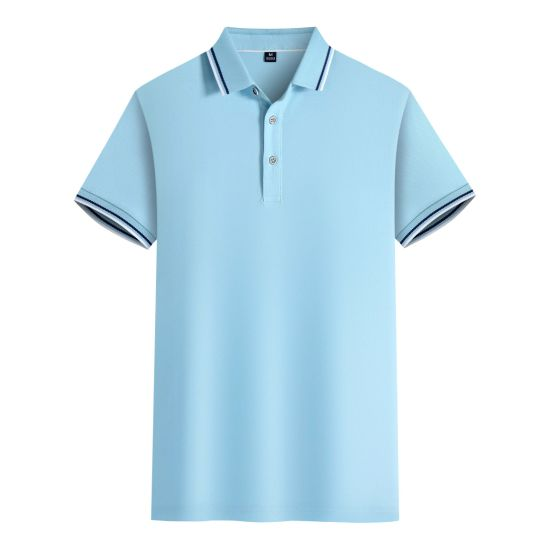 Fashion Customized Men and Women Print Polo T Shirts
