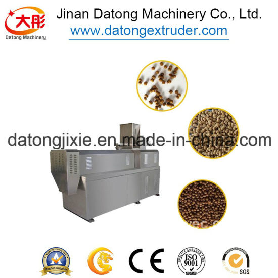 Fish Feed Machinery Floating Fish Feed Extruder Machine in Nigeria pictures & photos