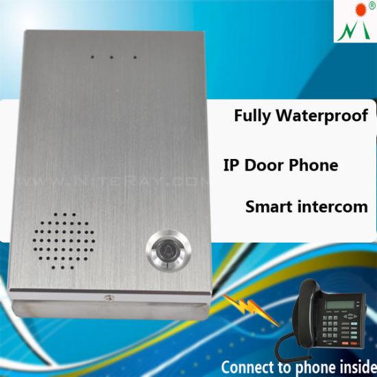 New IP Intercom System Door Lock Work with Poe