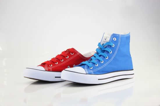 Women Shoes Canvas Shoes (SNC-03111) pictures & photos