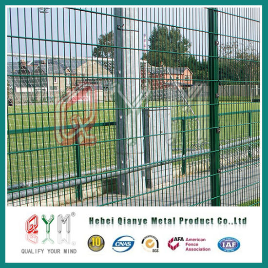 China Double Wire Fence/Ornamental Double Welded Loop Wire Mesh ...