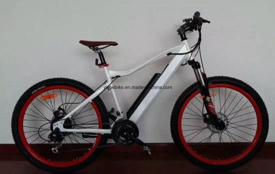 350W Far Range Brushless Motor Electric Bike with Shimano Gears