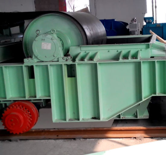 Use for Coal Mining Industry Long-Distance with Durable Rubber Belt Curved Conveyor System