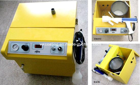 Automtaive Car Interior Electrostatic High Voltage Flocking Machine