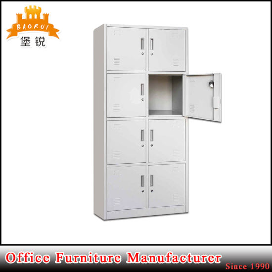 Hot Sale Kd 8 Doors Cheap Gym Metal Locker, Metal Clothes Locker Cabinet Lockable Design for Sale pictures & photos