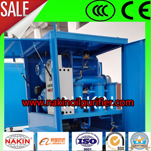 Vacuum Transformer Oil Filtering Purifying Machine for Oil Recycling Process pictures & photos