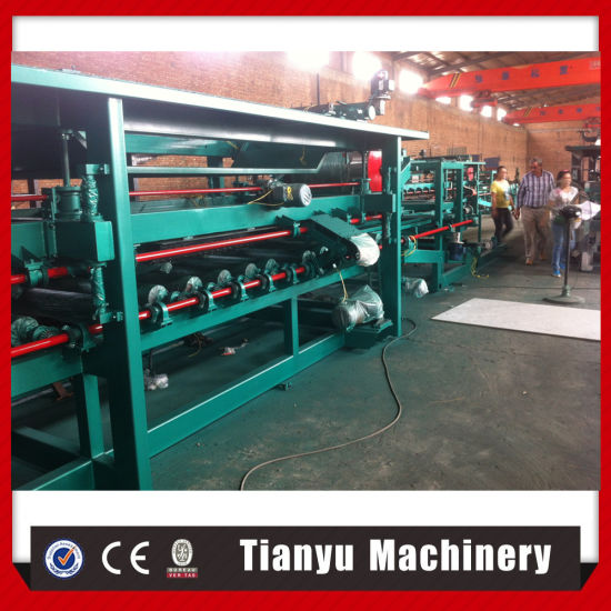 Automatic EPS and Rock Wool Sandwich Panel Roll Forming Machine pictures & photos