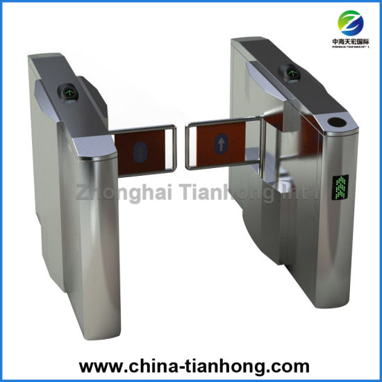 Deluxe Automatic Swing Barrier Turnstile pictures & photos