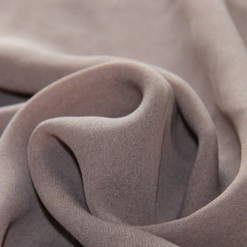 Polyester Twill Cashmere Chiffon Fabric, Nice Hand Texture, 57 or 58-Inch Width