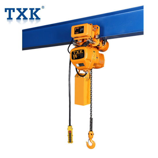Chinese Manufacture Txk 1t Electric Chain Hoist Lifting Machinery Crane  Parts