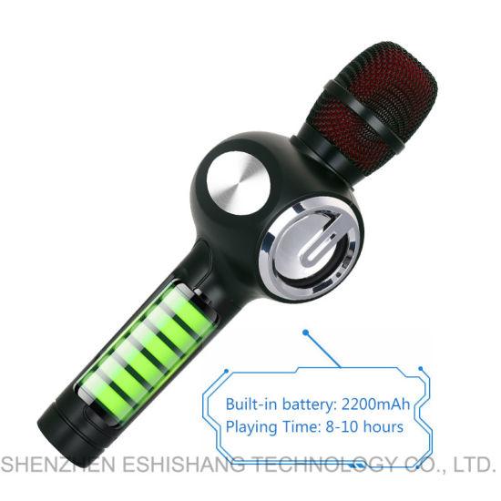 China Wireless Portable Karaoke Microphone Duet Singing