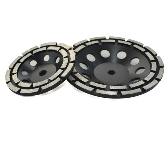 Double Row Diamond Grinding Cup Wheels pictures & photos