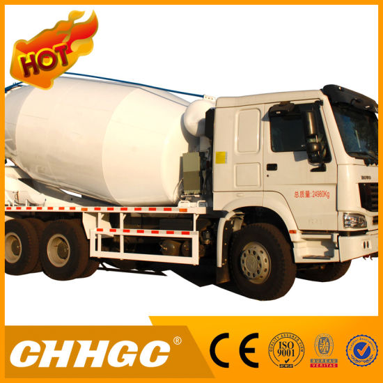 3 Axle 6X4 Concrete Mixer Truck pictures & photos