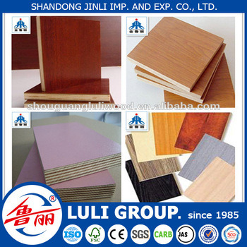 6mm Laminated Plywood From China Luli Group /Melamine Plywood Factory pictures & photos