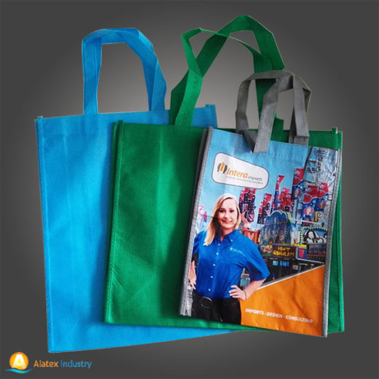 Lamination Non Woven Shopping Bag, Tote Bag pictures & photos