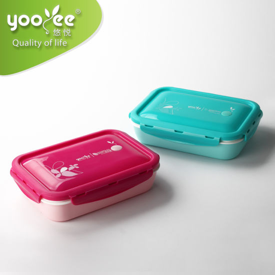 Lunch Box Microwavable Meal Prep Containers 5 Compartment Boxes for Kids Adult