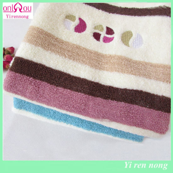 Factory Wholesale Cheap Price Cotton Face Towel pictures & photos