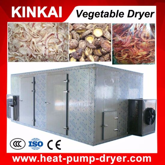 Energy Saving 1000kg Per Batch Type Vegetable Dryer
