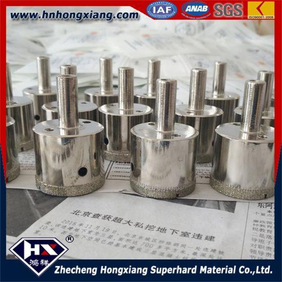 China Diamond Coated Drill Bit For Granite Electroplated Diamond - Diamond hole saws for ceramic tile
