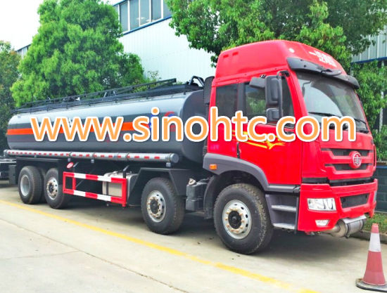 Petro transport truck, FAW oil transport truck, 15-20 Cubic Fuel Tank Truck pictures & photos