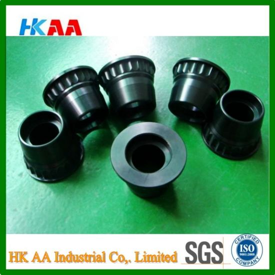 CNC Machining Knurling Printer Parts with Black Anodized pictures & photos