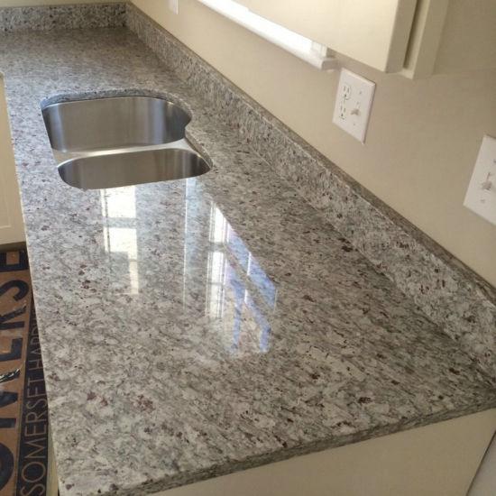 top quality moon white granite kitchen countertops - White Granite Kitchen