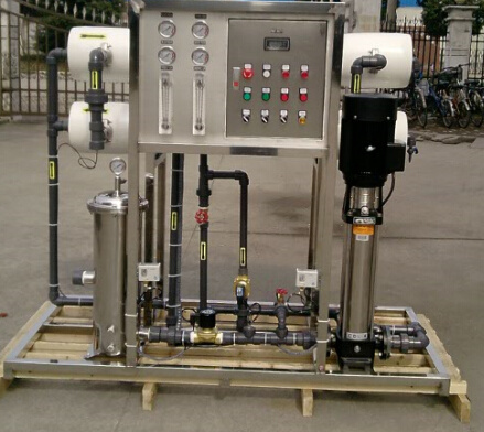 2t/H RO Water System with 2 PCS 8040 RO Membranes