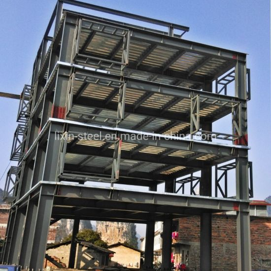 High Rise Steel Structure Frame Prefab House Hotel Steel Building