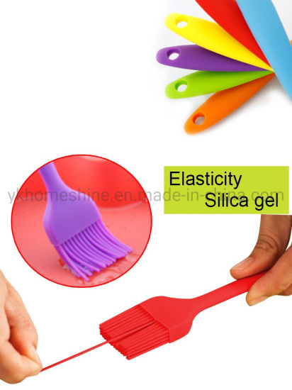 Food Grade Dishwasher Safe Cakes & Pastries Heat Resistant Silicone Basting Pastry Oil Brush