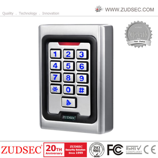 IP Touch Metal Facial Recognition Biometric RFID Fingerprint Door Access Control
