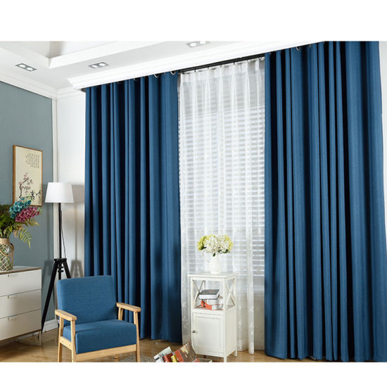 Curtains Wholesale Curtain Fabric Custom Hotel Living Room Bedroom Curtain  Finished