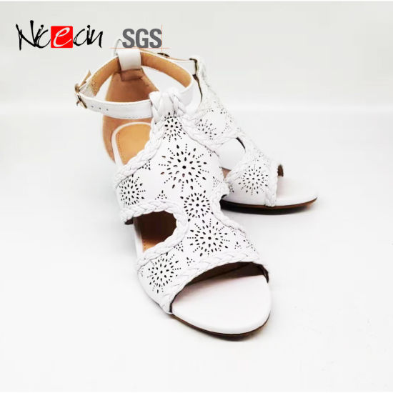 Women Fashion High Heel Sandals Lady Wedge Shoes