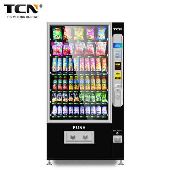 Tcn Snack Beverage Cold Drink Beer Milk Automatic Combo Vending Machine with Ce and ISO9001 Certificate