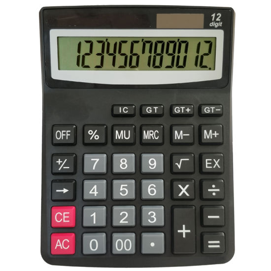 Economical Solar Electronic Calculator Office School Student Teaching Stationery