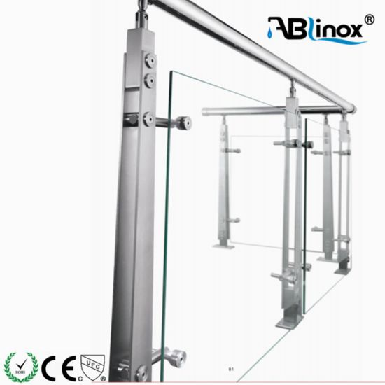 Ss 304 Glass Balustrade for Indoor Fence