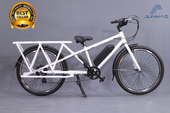 26inch Longtail 500W Electric Cargo Bicycle Lithium Power Battery Wholesale