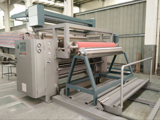 Open Width Cold Heap Dyeing Machine for Knitting Fabric