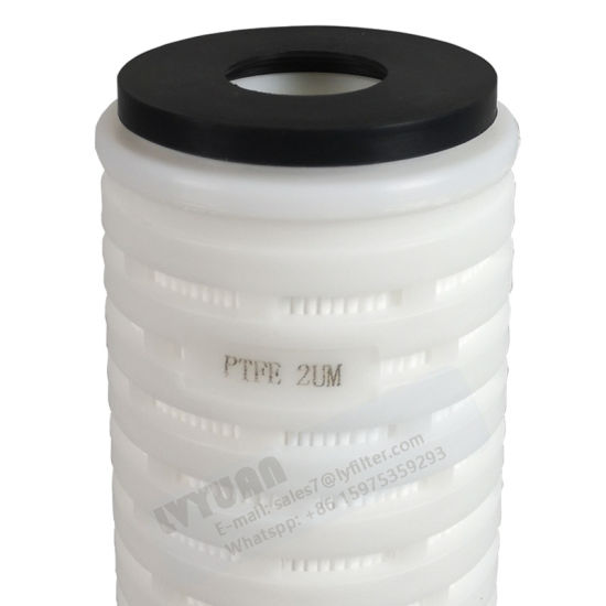 Hydrophilia Micro Cartridge Filter 0.45um PTFE Porous Membrane Filter for 10 20 Inch Mineral Water Filtration Plant