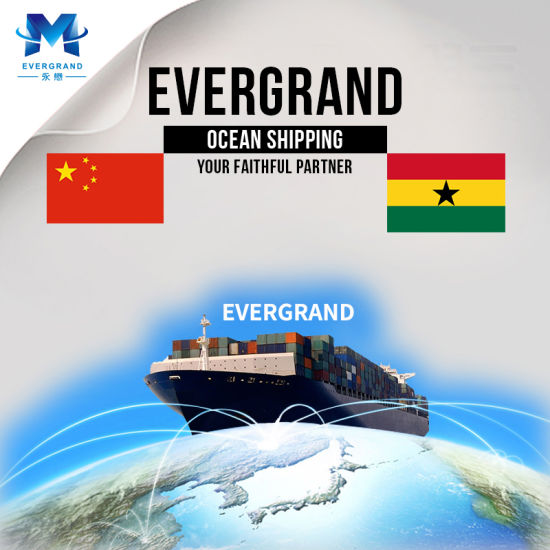 Professional Sea Freight Shipping Service From China to Ghana/Tema/Accra
