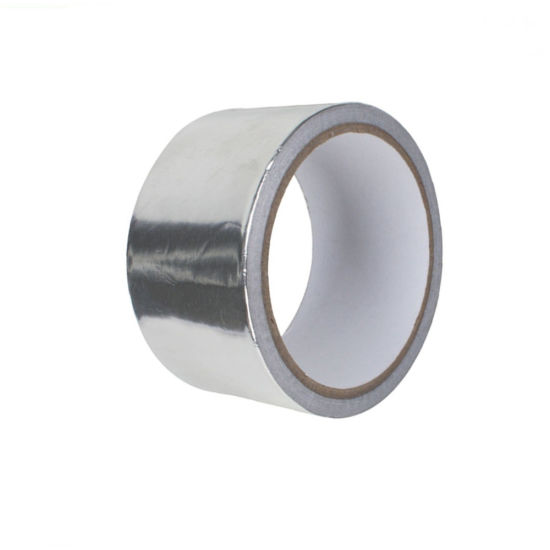 Waterproof Silver Aluminum Foil Butyl Rubber Tape for Jointing and Sealing Flexible Air Duct Seams and Connections pictures & photos