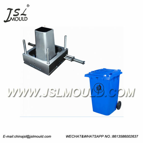 Injection Plastic 60L 120L 240L Large Outdoor Dustbin Garbage Container Mould