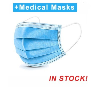 Factory Wholesale 3 Ply Disposable Non Woven Protective Dust Facial Mask Respirator Mouth Safety Mask Surgical Medical Face Mask pictures & photos