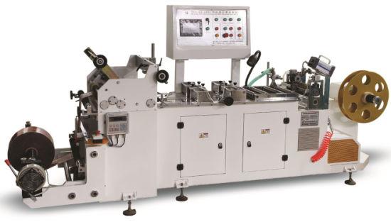 High Speed BOPP PVC Pet Shrink Sleeve Centre Sealing Bag Making Machine