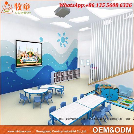 Attirant Kindergarten Play School Classroom Furniture Used Preschool Tables And  Chairs