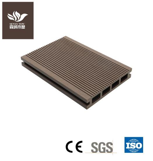 Hollow Waterproof Wpcwood Plastic Composite Decking Board Floating Pontoon