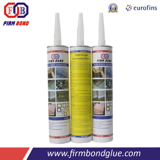 White Color Nail Free Glue for Door Line pictures & photos