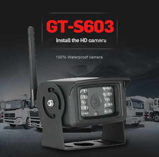 Latest Digital Wireless Car/Bus/Truck/Carvan Rear View Camera for Horseboxes pictures & photos