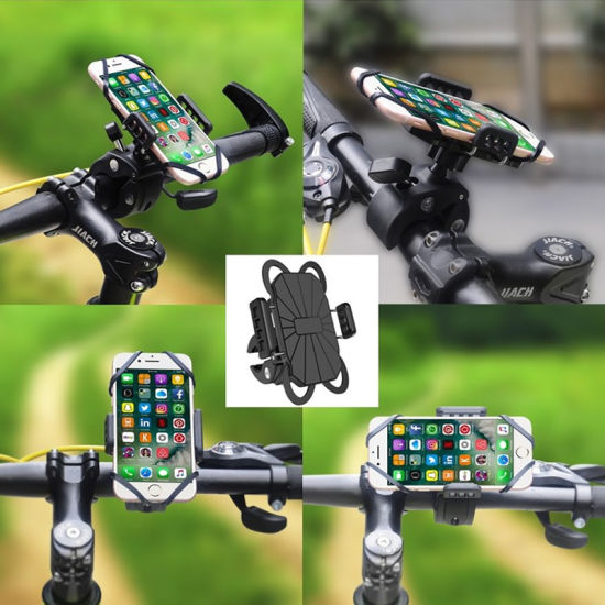 360 Rotating Bike Phone Mount Anti Shake Bicycle Phone Mount Holder for Cell Phone