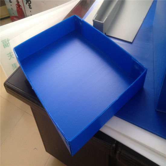 4X8 PP Corrugated Plastic Sheet /Coroplast Sheet for Sale pictures & photos