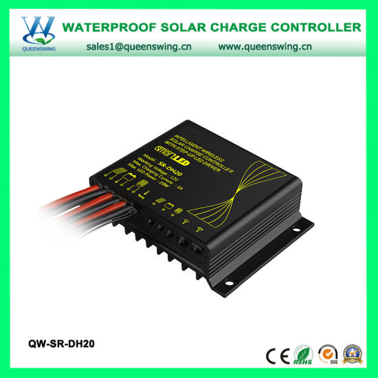 12V 5A PWM Waterproof Solar Street Light Charge Controller with LED Driver  (QW-SR-DH20)